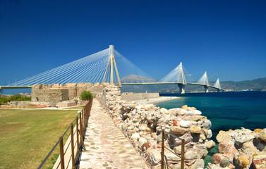 rio antirio patra - cable stayed bridge