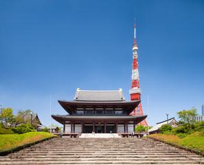 Zojoji temple in Tokyo