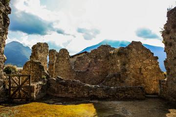 Rovine del Forte, Civitella del Tronto, Abruzzo, Italia
