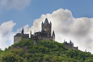 Castle rises in the sky - Reichsburg Cochem