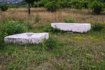 Prehistoric tombstones