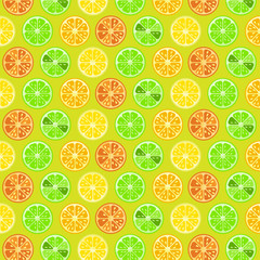 lime and critus pattern