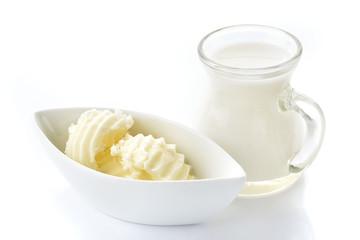 burro e latte