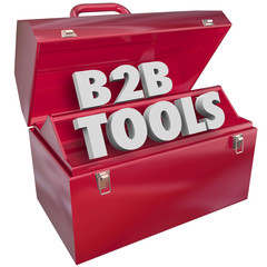 B2B Tools Red Toolbox Business Selling Resources