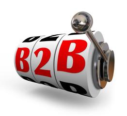 B2B Slot Machine Wheels Dials Business Sales Model