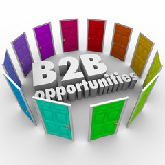 B2B Opportunities Word Doors New Business Paths Careers Jobs