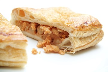 baked bean savory pasty