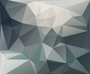 Abstract dark polygonal background