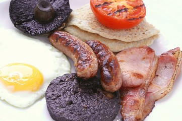 Full English Cooked Breakfast