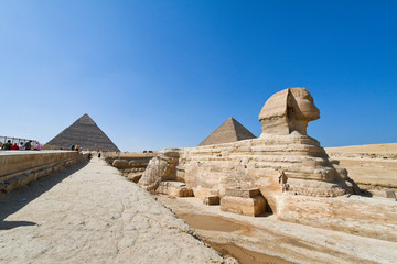 Ägypten, Giseh, Sphinx