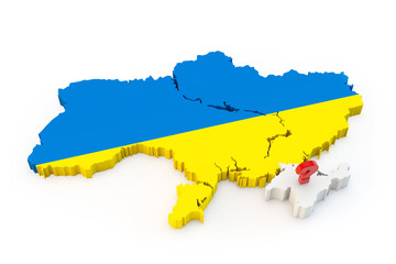 Ukraine map Crimea
