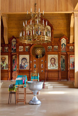 baptized in the Orthodox Church rustic