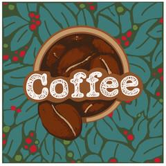 Coffee Beans Logo app