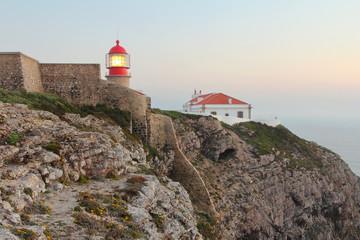 Lighthouse at Cabo Sao Vincente