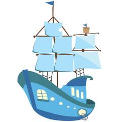Ship парусник корабль