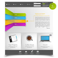 Corporate Website template.
