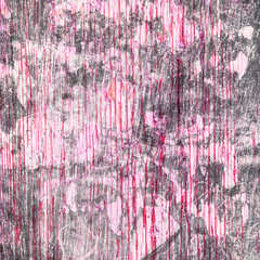 Grunge Textured background with scratches  for your design. Pink