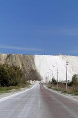 Cretaceous Mountain, summer landscape.