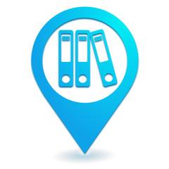 classement sur symbole localisation bleu
