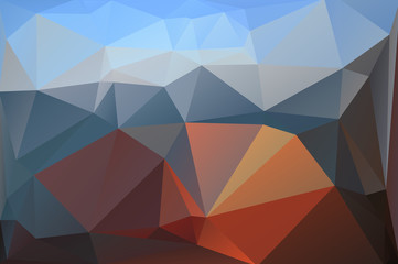 Abstract polygon polygonal