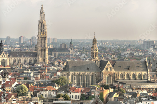 Fotobehang Antwerpen Kirchen in Antwerpen