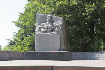 Памятник воинам-интернационалистам в посёлке Лазаревское, Сочи