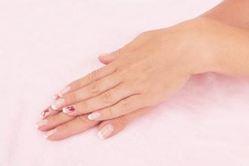 nail french