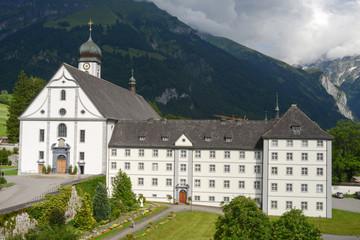 The convent of Engelberg on Switzerland