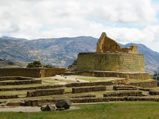Ecuador, Ingapirca Inca ancient site