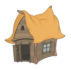 Funny Little House cartoon