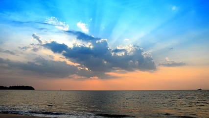 Beautiful and peaceful seascape