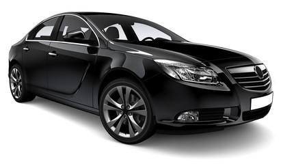 Black family car