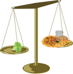 healthy food scales