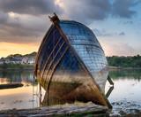 Fototapeta Abandoned Boat
