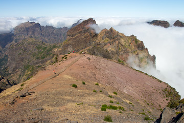 Pico Arieiro auf Madeira in Portugal