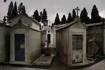 Sad cemetery