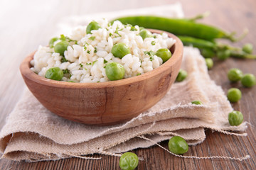 rice and pea,risotto