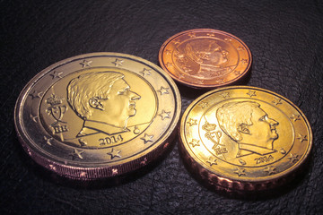 belgian euro coins 2014