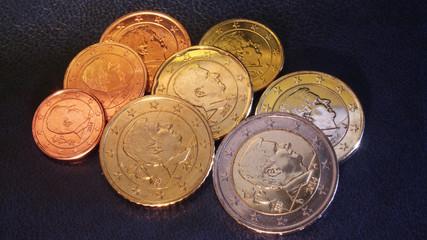 belgian euro coins 2014 (philippe)