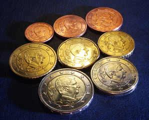 philippe king of belgium euro coins 2014