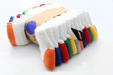 Chaussettes de couleur