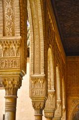 Alhambra de Granada, Al-Andalus, Cuarto de Comares