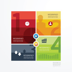 Modern Design infographic template.can be used for infographics