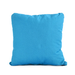 Small blue pillow or cushion