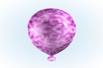 Pink Taffy Candy Balloon
