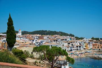 Calella de Palafrugell at day, Costa brava, Catalonia, Spain