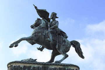 Equestrian statue of Archduke Charles, Imperial palace, Heldenpl