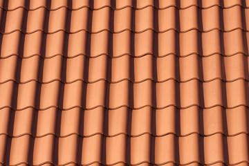 Orange roof tiles , pattern image.