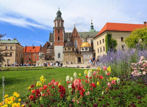 Fototapeta Cracow - Wawel Castle - cathedral