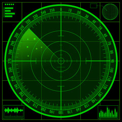 Radar screen